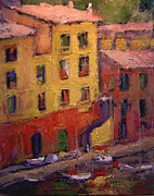 R W Goetting - Portofino afternoon